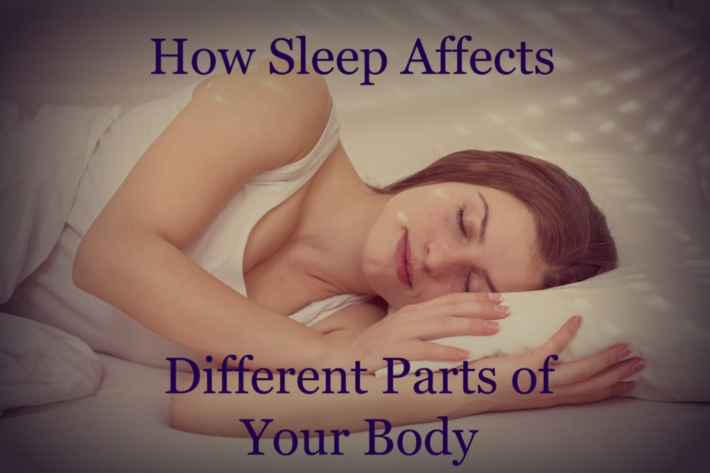Valley Sleep Center Blog: How Sleep Affects Different Parts of Your Body