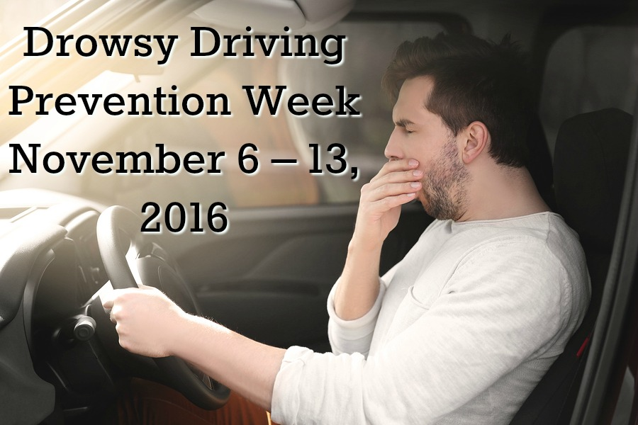 Valley Sleep Center Blog: Drowsy Driving Prevention Week