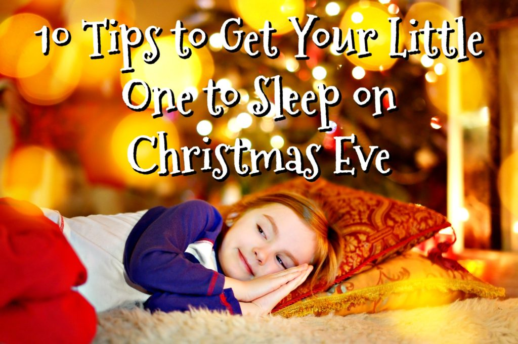 the story of a magical man from the north pole coming to your home to leave you presents while you sleep is very thrilling for young children - How To Go To Sleep On Christmas Eve