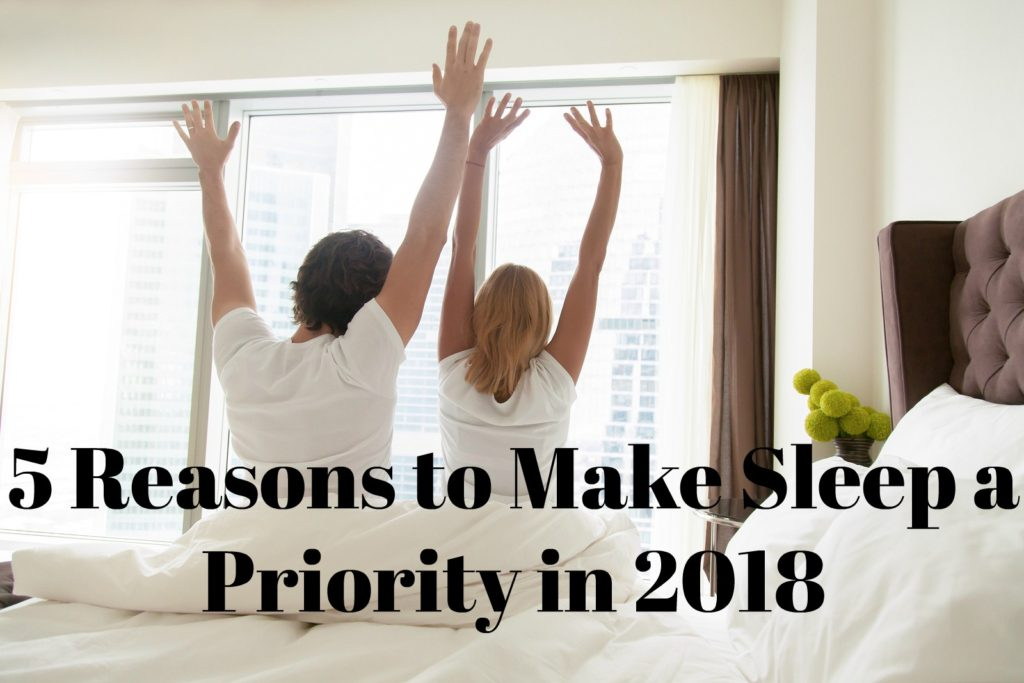 449c191cc21 If you fail to get the recommended seven to eight hours of sleep each  night, these are five reasons why you should make sleep a priority in 2018: