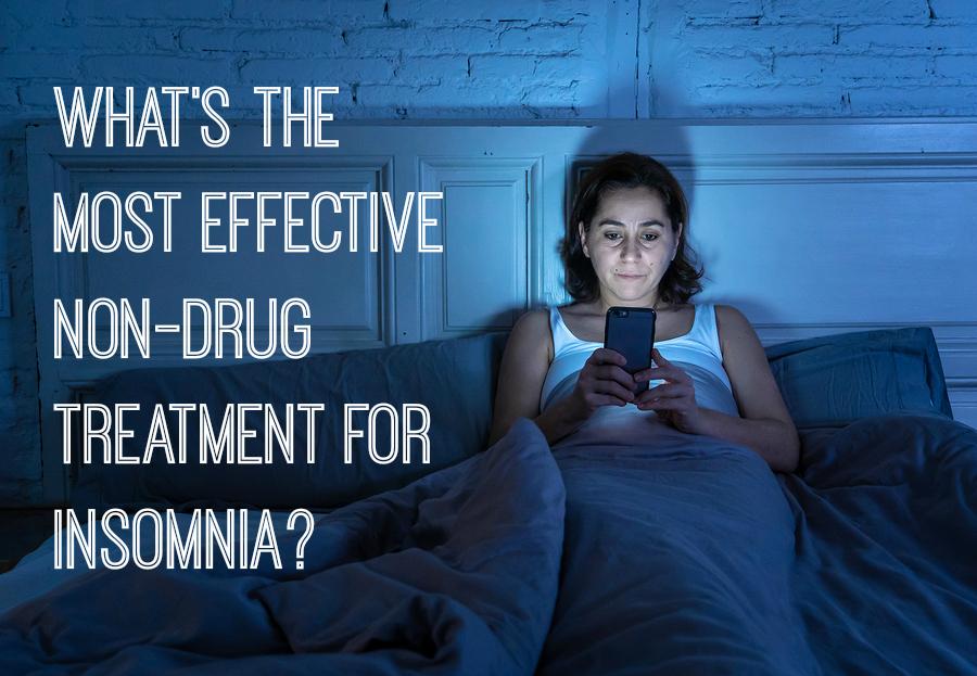 non drug treatment for insomnia